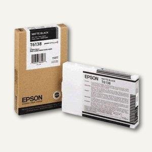 Epson Tintenpatrone T613800, 110 ml, schwarz/matt, C13T613800