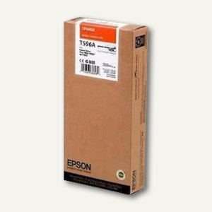 Epson Tintenpatrone T596A00 UltraChrome HDR, 350 ml, orange, C13T596A00