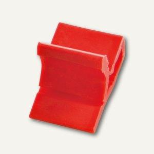 Kunststoff-Briefklemme Zacko 2, für 2-20 Blatt, 12x18 mm, rot, 120St., 2855-20