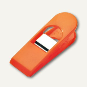 Laurel Briefklemmer BIG PEG, 33 x 120 mm, orange, 4 Stück, 1176-50