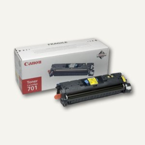 Canon Toner Cartr. 701L, ca. 2.000 Seiten, gelb, 9288A003