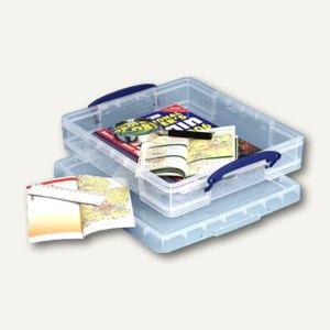 Aufbewahrungsbox 7 Liter, 340 x 307 x 70 mm, transparent, 6 Stück, 7C