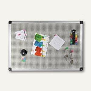 Laurel Kombitafel, Magnet-/Pinboard, 60 x 40 cm, silber, MB 026