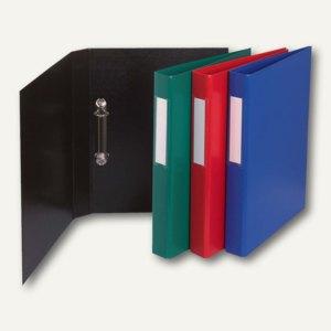 Ringbuch DIN A4 mit Rückenetikett, 2-Ringe Ø 25 mm, PP, sortiert, 10 St., 54380E