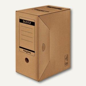 "LEITZ Archiv Schachtel ""Fast & Easy"", DINA4+, 330 x 255 x 150 mm, 60510000"