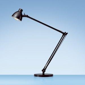 Styro Tischleuchte LED Valencia, große Ausladung (62cm), schwarz, 5010619