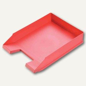 Helit Briefablage ECONOMY, DIN A4/C4, Kunststoff, rot, 5 Stück, H2361625