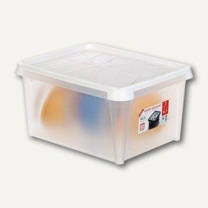 DRY Wasserdichte Box 31 Liter, 50 x 40 x 26 cm, transparent-weiß, 3461010