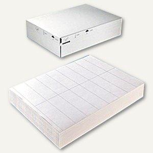 officio Universal-Etiketten - 70 x 50.8 mm, permanent, weiß, 7.500 Stück, 8415
