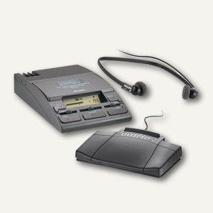 Philips Diktierset 730T, inkl. Kopfhörer, Fußschalter und Netzteil, 1220130
