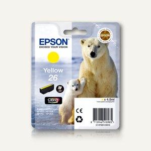 Epson Tintenpatrone XP600, gelb, C13T26144020