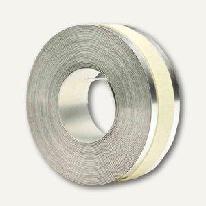 Dymo Prägeband, Aluminium mit Klebeschicht, 12 mm x 3.65 m, 35800