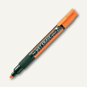 "Pentel Kreidemarker ""WET ERASE CHALK"", Keilspitze 0.6-4.0 mm, orange, SMW26-FO"