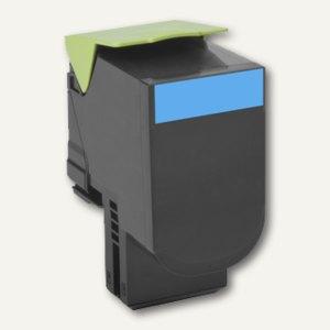 Lexmark Cartridge Toner 24B6008 3k, ca. 3.000 Seiten, cyan, 24B6008