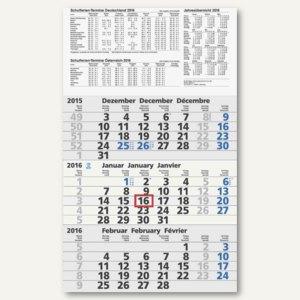 3-Monats-Wandkalender - 300 x 486 mm