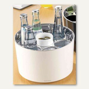 """Esmeyer Konferenz-Getränkekühler """"STAR"""" - 150x230 mm, 0.25-0.5 l, weiß, 383-2206"""