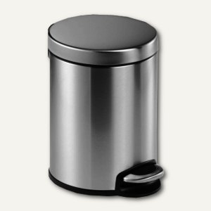Tretabfalleimer Edelstahl - 5 Liter