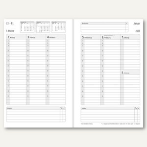 Chronobook Taschenkalender Business Edition Mini - 95x145mm