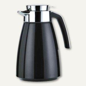Emsa Isolierkanne BELL, Edelstahl, 1 Liter, schwarz metallic, 513810