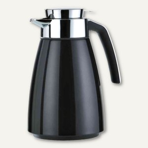 Emsa Isolierkanne BELL, Edelstahl, 1.5 Liter, schwarz metallic, 513815