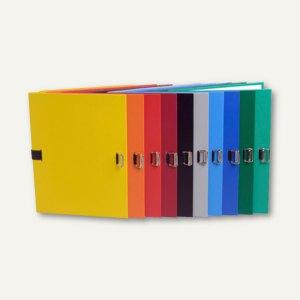 Exacompta Dokumentenmappe, DIN A4, bis 13 cm dehnbar, 10 Farben sortiert, 720E