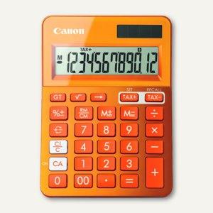 Tischrechner LS-123K, 12-stellig, Solar + Batterie, metallicorange, 9490B004AA