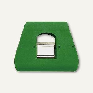 Briefklemmer SIGNAL 3, 90 x 70 mm, 23 mm Klemmweite, grün, 5 Stück, 1136-60