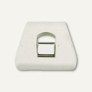 Briefklemmer SIGNAL 3, 90 x 70 mm, 23 mm Klemmweite, weiß, 5 Stück, 1136-10