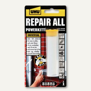 2-Komponenten-Klebstoff-Knetmasse repair all powerkit