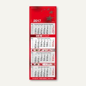 4-Monats-Wandkalender mit Kalenderblöcken
