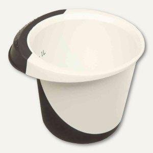 OKT Rührschüssel DELUXE - 1.5 Liter, 180 x 140 mm, weiß/graphite, 1017482600000