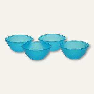 OKT Salatschälchen-Set - 0.5 Liter, PP, 135x65 mm, blau, 4er-Pack, 3066163200000