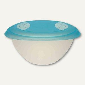 OKT Salatschale - 6 Liter, Deckel, PP, (Ø)340x(H)165 mm, blau