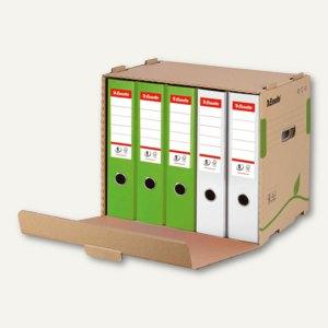 Esselte Archiv-Container ECO für Ordner - 305x427x343 mm, braun, 10St., 623920