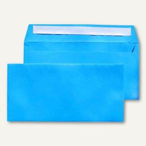 Briefumschlag C6/5, 114x229 mm, ohne Fenster, dunkelblau, 250 Stück, 227673