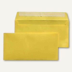 MAILmedia Briefumschlag C6/5, 114x229 mm, ohne Fenster, gelb, 250 Stück, 227671