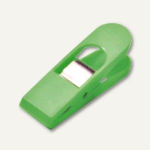 Laurel Briefklemmer MAXI PEG, Klemmweite: 18 mm, hellgrün, 10 Stück, 1166-17