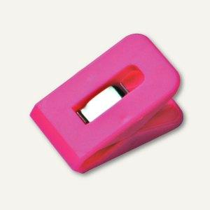 Laurel Briefklemme SIGNAL 1, 25 x 43 mm, 19 mm Klemmweite, pink, 100 St.,1110-40