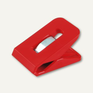 Laurel Briefklemme SIGNAL 1, 25 x 43 mm, 19 mm Klemmweite, rot, 100 St., 1110-20