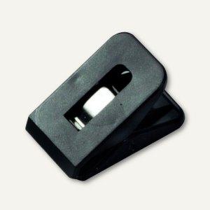 Briefklemme SIGNAL 1, 25 x 43 mm, 19 mm Klemmweite, schwarz, 100 St., 1110-11