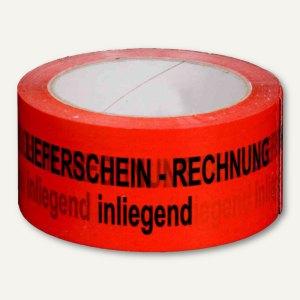 Signalklebeband Rechnung/Lieferschein..! - 50 mm x 66 m