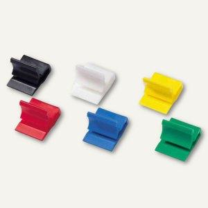 Kunststoff-Briefklemmer Zacko 1, 11 x 14 mm, farbig sortiert, 1000 Stück, 2841-9