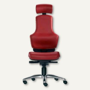 Bürodrehstuhl Ortholetic Balance mit Kopfstütze
