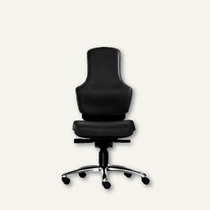 "Bürodrehstuhl ""Ortholetic Balance"" ohne Kopfstütze, Stoff, schwarz, O1500B-109"