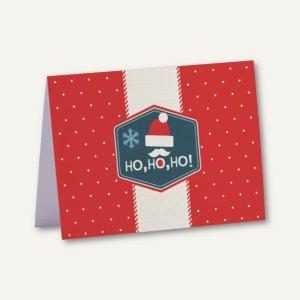 Weihnachtskarte + Umschlag