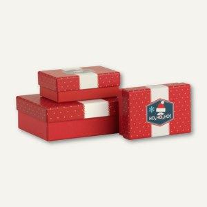Rössler Kartonage HO HO HO, 2 Größen, 6 Boxen, 13488140003