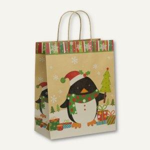 Rössler Weihnachten Geschenktasche, 265x330x135mm, Pinguin, 8 Stück, 13728135300