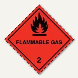 Artikelbild: Gefahrgutaufkleberfolie - Gas