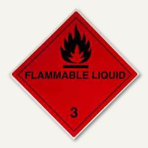 Artikelbild: Gefahrgutaufkleberfolie - flüssige Stoffe