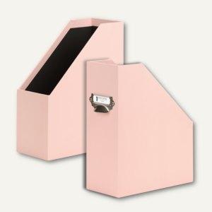 Rössler Uni-Apricot Stehsammler mit Griff, für DIN A4, 2 Stück, 13181170001